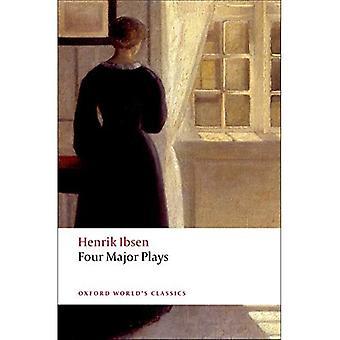 Cztery główne gra: Dom lalki, duchy, Hedda Gabler i Master Builder (Oxford światowej klasyki)