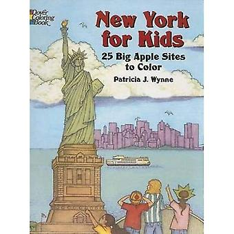 New York für Kinder: 25 Big Apple Seiten in Farbe (Dover Pictorial Archives)