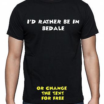 J'ai dû plutôt être dans Bedale main noire imprimé t-shirt