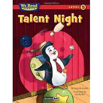 Talent Night (We Read Phonics - Level 5