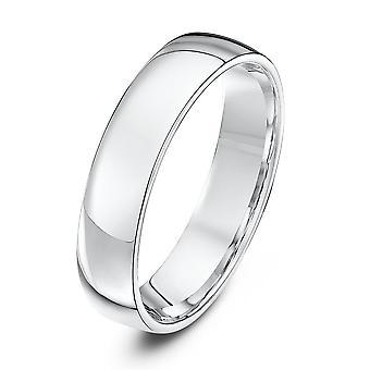 Anillos de boda estrella platino corte de luz forma 5mm anillo de bodas