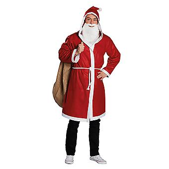 Christmas mantelen Nicholas pels Nicholas kappe kostyme for menn