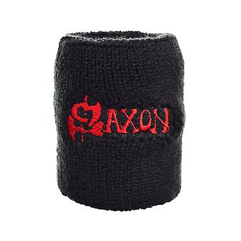 Saxon Logo Embroidered Wrist Sweatband