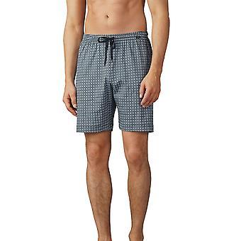 Mey 19050-188 Men's Lounge Ciel Grey Pyjama Short