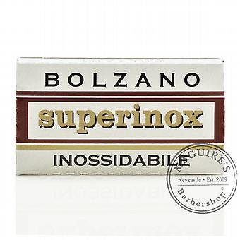 Bozen Superinox Inossidabile doppelter Schneide (DE) Razorblade