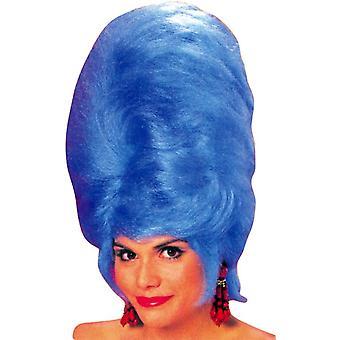 Ruche bleue perruque pour adultes