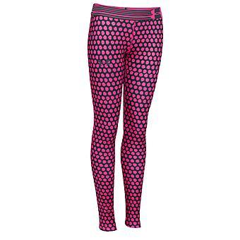 Under Armour Heatgear Armour Printed Girls Sport Legging Pink