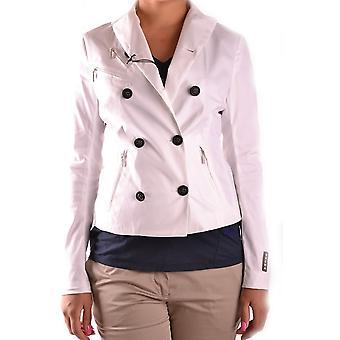 Brema Ezbc146026 Women's White Cotton Blazer