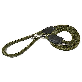 Rosewood Rope Twist Dog Lead