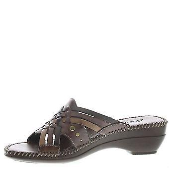 Konkurzy Dámske Tango kožené Open Toe ležérne slide sandále