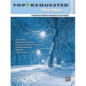 Top-Requested Christmas Sheet Music - Easy Piano by Dan Coates - 97807