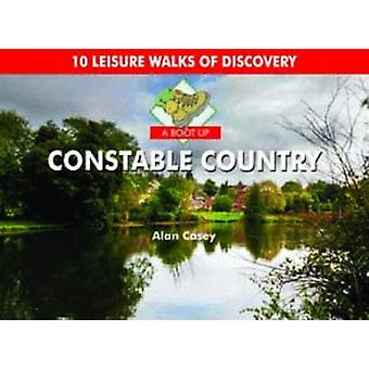 A Boot Up Constable Country by Alan Casey - 9780857100832 Book