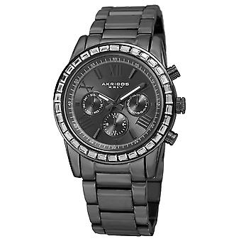 Akribos XXIV quarzo opaco quadrante bracciale orologio AK943GN