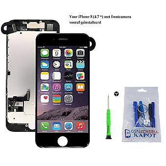 For iPhone 8 AA + + pre-assembled LCD screen black & Tools