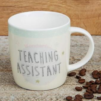 Best Teaching Assistant Mug - Boutique Style Teacher Gift