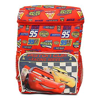 Mochila Pequeña - Disney - Cars Racing Series Red New 163451