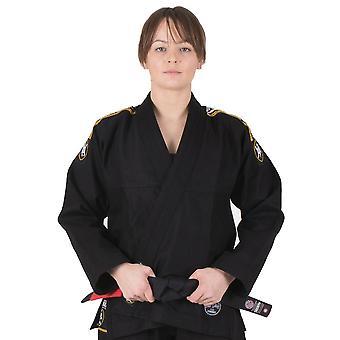 Tatami Fightwear Nova absolutas senhoras Jiu-Jitsu Gi preto