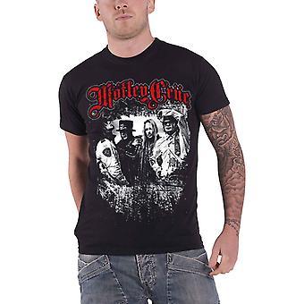 Motley Crue T Shirt Greatest Hits Band shot logo Official Mens Black