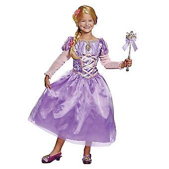Girls Rapunzel Deluxe Costume