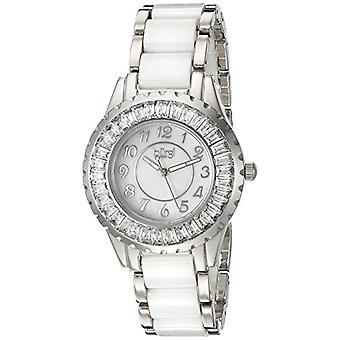 Burgi BUR066WT quartz wrist watch, Analog, female, ceramic, white