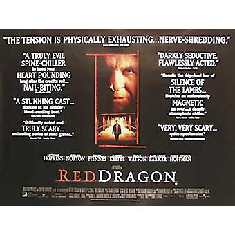 Red Dragon (Quotations) Original Cinema Poster