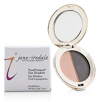 Jane Iredale Purepressed Duo Eye Shadow - Hush/smokey Grey - 2.8g/0.1oz