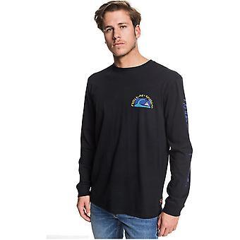 Quiksilver Art House Long Sleeve T-Shirt in Black