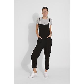 Maisie Damen Jumpsuit - schwarz