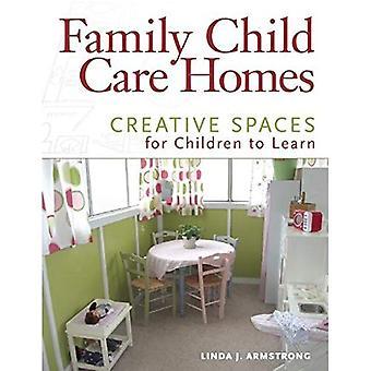 Child Care familiehuizen: Creatieve ruimtes voor kinderen om te leren