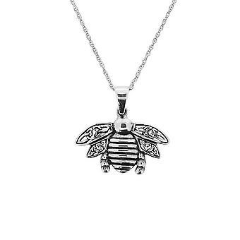 Outlander Inspired Scottish Celtic Bee Necklace Pendant