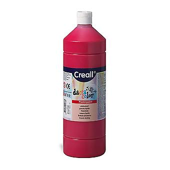 Creall Havo02076 1000ml 06 Dark Red Havo Dacta Color Poster Paint Bottle Toy