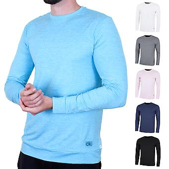 Calvin Klein Golf Uomo Brooklyn Long Sleeve T-Shirt