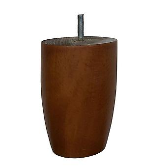 Kirsebærtre runde møbler ben 12 cm (M8) (1 stk. )