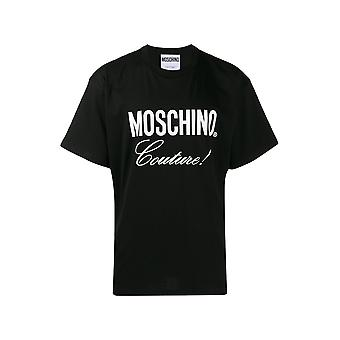Tee Shirt Coton Logo  -  Moschino