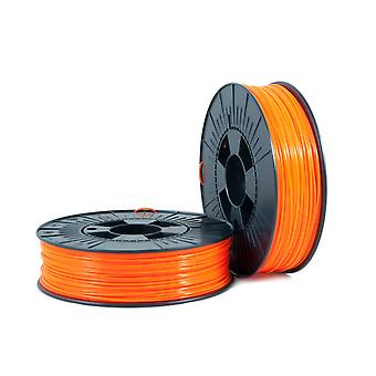 PLA 1,75mm orange fluor 0,75kg - 3D Filament liefert