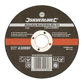 Heavy Duty Metal Cutting Disc Flat - 125x3x22.23mm