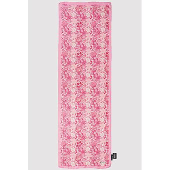 Premium crepe scarf in hot pink