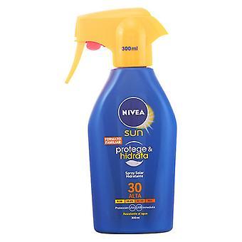 Spray Sun Protector Protege & Hidrata Nivea SPF 30 (300 ml)