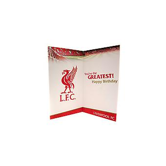 بطاقة عيد ميلاد أبي نادي ليفربول
