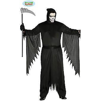 Trajes dos homens assassino traje de Halloween com capuz e mangas grandes
