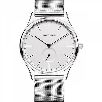 Uhr Bering 16641-004 - Helles Stahlzifferblatt weiß Mailänder Stahlarmband