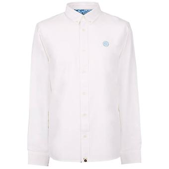 Pretty GREEN Classic Fit Oxford Chemise