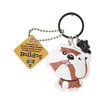 Wags & Whiskers keyring-Bulldog