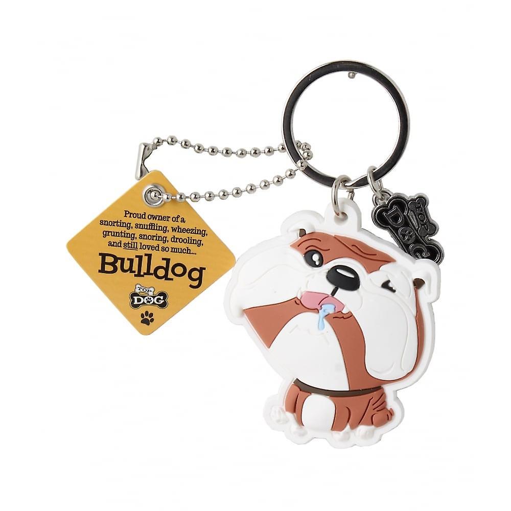 Wags & Whiskers Keyring - Bulldog