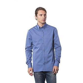 Miesten Roberto Cavalli Light Blue Pitkähihaiset paidat
