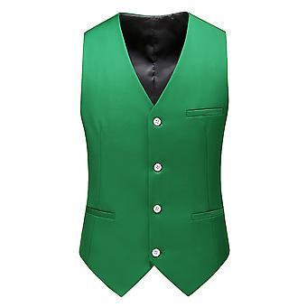 Allthemen Men's Suit Vest V-Neck Business Casual Vest