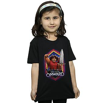 Disney Girls Onward Corey Manticore Crest T-Shirt