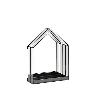 Light & Living Mirror 40x13x52cm Berogy Glass-Black