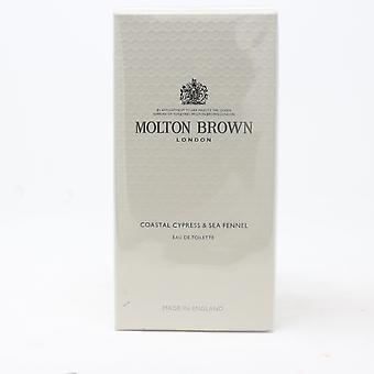 Coastal Cypress & Sea Fennel door Molton Brown Eau De Toilette 3.4oz Nieuw Met Doos