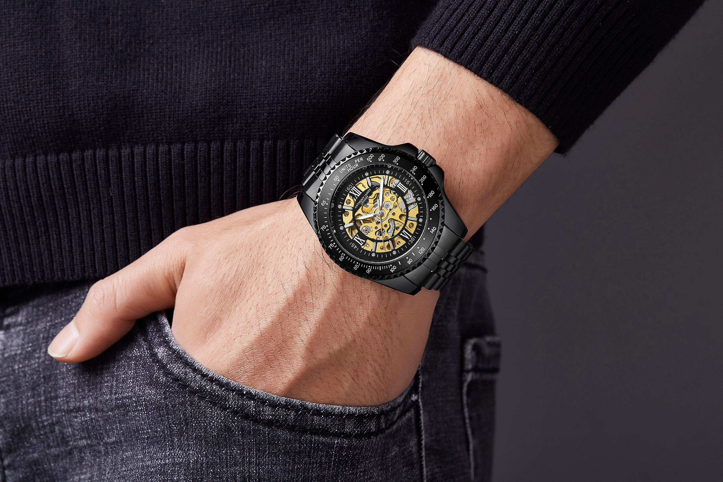 Anthony James Limited Edition Tachymeter Sports Automatic Watch